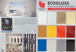 Ecogloss pannello Colorificio Tirreno